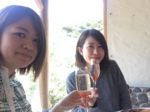 軽井沢でランチ女子会♡