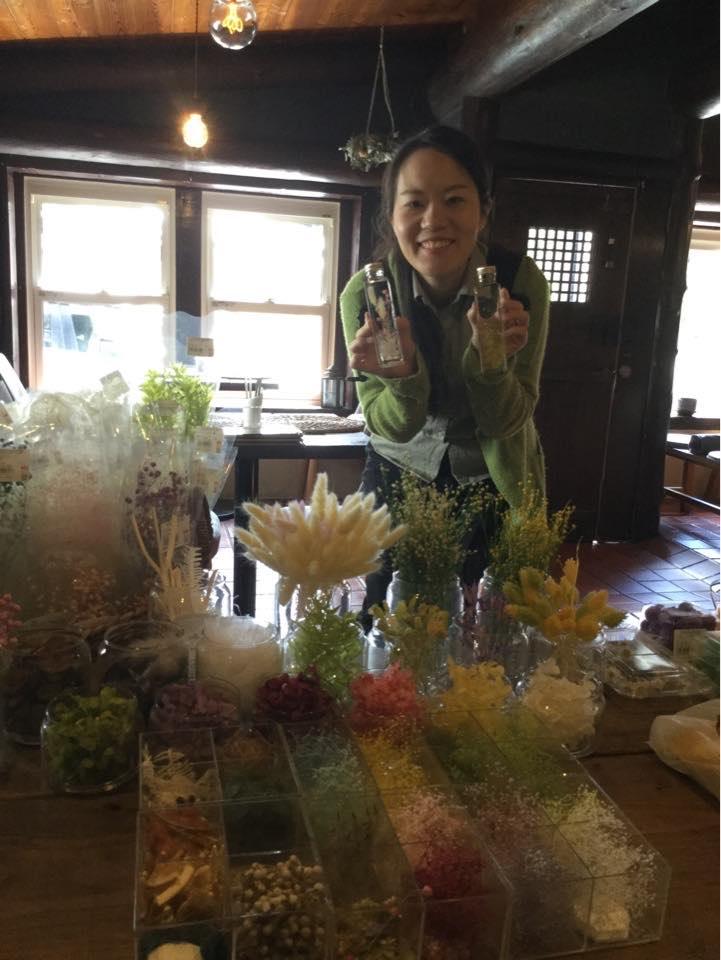 ヒルナンデス!久本雅美さんも体験した≪NICO CAFE≫で、ハーバリウム作り!