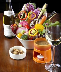 表参道で女子会はワインと野菜でおしゃれに