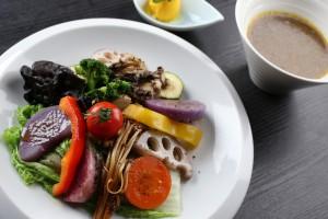 ゴロゴロ野菜たっぷりベジカレーセット